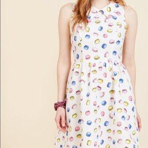 ModCloth French Macaron Dress